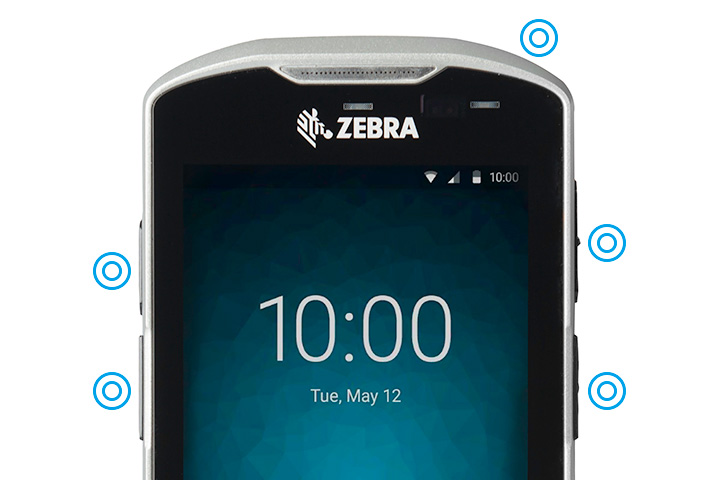 ZEBRA TC56 業務用タッチコンピュータ(Android端末) 4G/LET対応