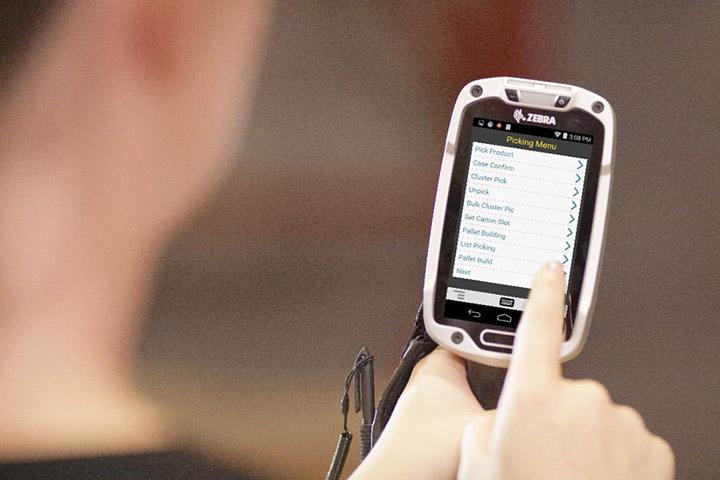 ZEBRA TC8000 4インチ倉庫向け Androidスマートコンピュータ