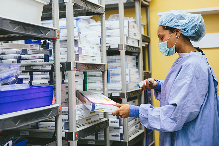 ZEBRA CS6080HC 多機能型医療用スキャナ