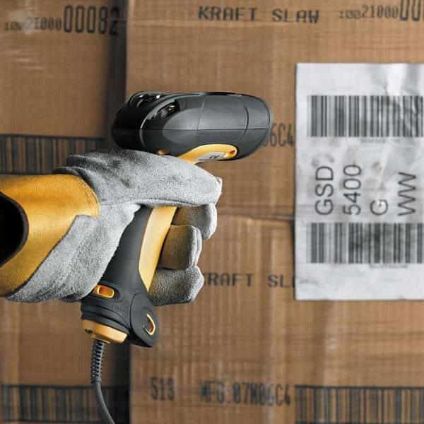 ZEBRA LS3408ER インダストリアル バーコードレーザスキャナ