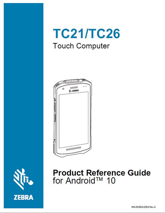 プロガクトリファレンスガイド ZEBRA TC21 究極のタッチコンピュータ(Android端末)
