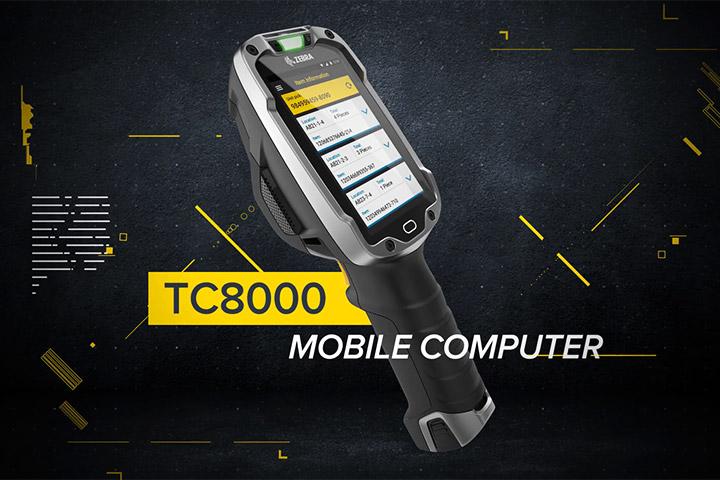 TC8000 4インチ倉庫向け Androidスマートコンピュータ